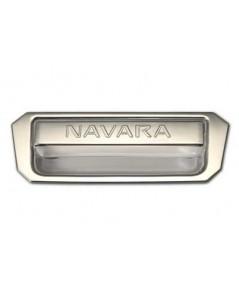 ครอบเบ้าโครเมี่ยมกระบะท้าย NAVARA