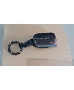 ซองหนังหุ้มกุญแจ+พวงกุญแจ VINTAGE