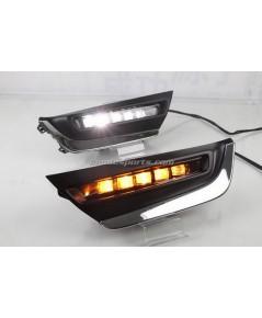 ไฟตัดหมอก LED+ไฟเลี้ยว CRV G5