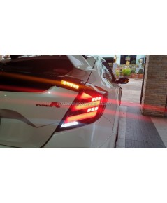 ชุดโคมไฟท้าย Civic FK MUGEN (Civic Hatchback)
