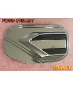 FORD EVEREST ครอบฝาถังน้ำมัน งานโครเมี่ยม ยี่ห้อ Lekone