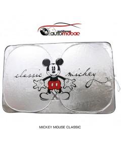 Mickey Mouse Classic ม่านบังแดด ด้านหน้า ป้องกัน UV และความร้อน งานลิขสิทธิ์แท้ ใช้ได้กับรถทุกรุ่น