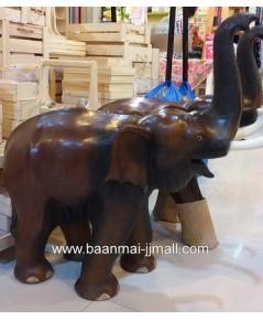 ช้างชูงวง ขนาด สูง 22 นิ้ว หรือ 56 ซม. ยาว 24 นิ้ว