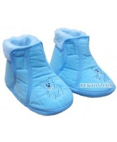 รองเท้าบู๊ทเด็กบุนวม ฟ้า 9-12 เดือน