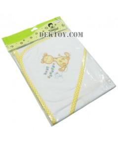 ผ้าห่อตัวเด็กทารก 110-1 สีขาว