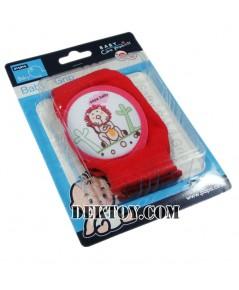 สนับเข่าเด็กปาป้า สีแดง CEQ-087B