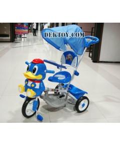 รถจักรยานเด็กหน้าเพนกวิน ฟ้า BCQB0019