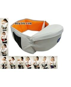 ที่นั่งเด็กคาดเอวฟาร์ลิน สีครีม Farlin Baby Hip Seat USE-6606