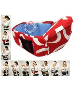 ที่นั่งเด็กคาดเอวฟาร์ลิน สีแดง Farlin Baby Hip Seat USE-6607
