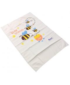 ผ้ายางแผ่นเรียบPureenไซส์ L ลายผึ้ง 60 x 90 ซม. 212140