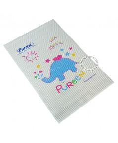 ผ้ายางสูญญากาศเพียวรีน ลายช้าง ไซส์ L 60 x 90 ซม. 31BRC032090 1 แถม 1