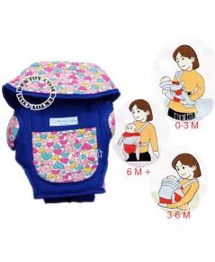 เป้อุ้มเด็กลิตเติ้ลโฮม-Little Home AM-15 สีฟ้า