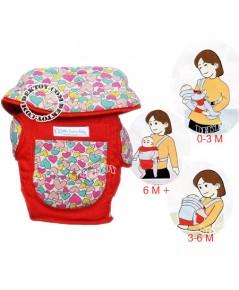 เป้อุ้มเด็กลิตเติ้ลโฮม-Little Home AM-15 สีแดง