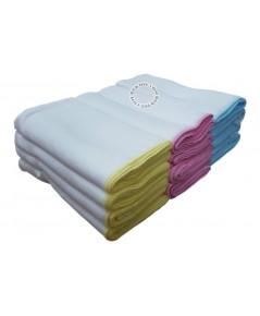 Ness เนส ผ้าอ้อมเนื้ออองฟองEnfant Cotton ไซส์27x27นิ้วแพ็ค12ผืน