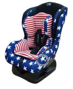 Fin babiesplus ฟินเบบี้พลัส คาร์ซีท Car Seat Fin HB01 สีกรมดาว