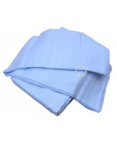 ผ้าอ้อมเนื้ออองฟองEnfantไซส์27x27นิ้วแพ็ค12ผืนสีฟ้า