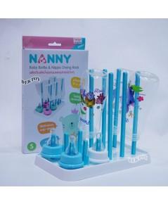 ที่คว่ำขวดนมที่ตากขวดนมแนนนี่ Nanny ไซส์S N233