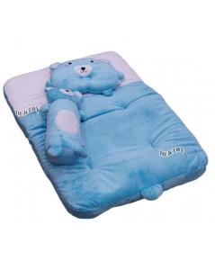 PAPA ปาป้า ที่นอนเด็กเบาะนอนทารกผ้าเวลบัวหน้าหมี H29/1