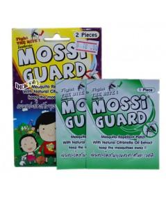 Mossi Guard ม็อซซี่การ์ด แผ่นแปะป้องกันยุง 1 ซอง 2 ชิ้น