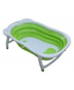 NANNY แนนนี่ อ่างอาบน้ำเด็กแนนนี่พับได้TW6004สีเขียว