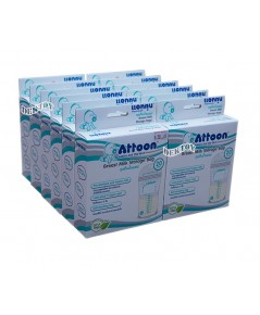 ATTOON แอทตูน ถุงเก็บน้ำนมแอทตูน20ใบx12กล่อง(240ถุง)