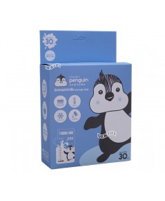 LITTLE PENGUIN ลิตเติ้ลเพนกวินถุงเก็บน้ำนมเพนกวิน 8 ออนซ์30ใบ