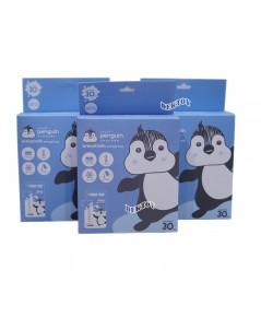 LITTLE PENGUIN ลิตเติ้ลเพนกวินถุงเก็บน้ำนมเพนกวิน 8 ออนซ์30ใบx3กล่อง