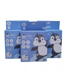 LITTLE PENGUIN ลิตเติ้ลเพนกวินถุงเก็บน้ำนมเพนกวิน 8 ออนซ์30ใบx6กล่อง