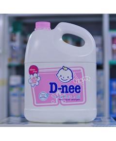 Dnee ดีนี่ น้ำยาซักผ้าเด็กดีนี่  แกนลอน Honey Star ชมพู 3000 มล.