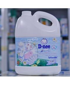 Dnee ดีนี่ น้ำยาซักผ้าเด็กดีนี่  แกนลอน ไลฟ์ลี่ ไบร์ทแอนด์ไวท์สีขาว 3000 มล.