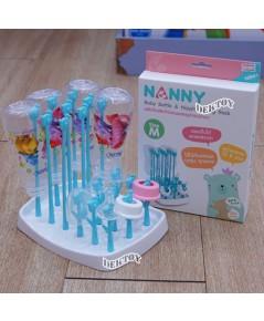 NANNY แนนนี่ ที่คว่ำขวดนมที่ตากขวดนมแนนนี่ ไซส์M N232