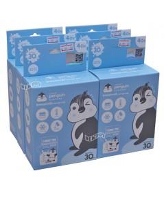 PENGUIN เพนกวินถุงเก็บน้ำนมเพนกวิน 4 ออนซ์30ใบx6กล่อง