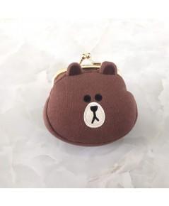 กระเป๋าใส่เหรียญ Brown