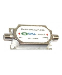 Line-amp ขยายสัญญาณดาวเทียม dBy Leotech LA2400