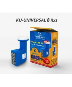 LNB หัวรับสัญญาณ Ku-Band INFOSAT K048+ (UNIVERSAL)