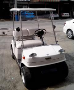 รถกอล์ฟ YAMAHA  มือสองญี่ปุ่น  4 ที่นั่ง ใช้น้ำมันแก๊ซโซฮอล 91