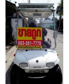 รถกอล์ฟไฟฟ้าโซล่าเซลล์ SOLAR-EVO 2-4 ที่นั่ง สีขาว รถกอล์ฟไฟฟ้าเซลแสงอาทิตย์