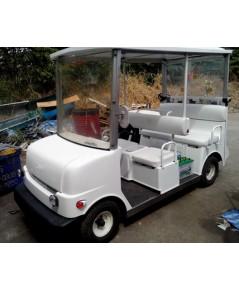 รถกอล์ฟพลังงานแสงอาทิตย์ Solar HITACHI 4 ที่นั่ง 48 V มือสองญี่ปุ่น