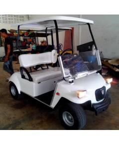 รถกอล์ฟไฟฟ้าโซล่าเซลล์ CARIO  2-4 ที่นั่ง ปี 2009 สีขาว
