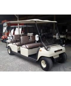 รถกอล์ฟไฟฟ้า Club Car 6 ที่นั่ง พร้อมเครื่องชาร์ทแบตเตอรี่