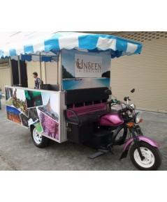 รถไฟฟ้า รถชมวิวไฟฟ้า 14 ที่นั่ง Unseen Thailand