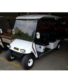 รถกอล์ฟไฟฟ้าโซล่าเซลล์ EZGO  6 ที่นั่ง มือสองบูรณะใหม่