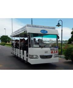 รถพลังงานไฟฟ้าโซล่าเซลล์ 35-40 ที่นั่ง รถชมวิวไฟฟ้าโซล่าเซลล์ 35-40 ที่นั่ง