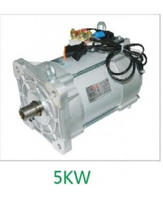 AC Drive Motor Set 72V 7.5KW-15KW 3,000-6,000rpm. with AC Controller for EV