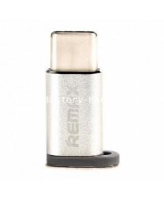 remax USB 2.0 Type-C (USB-C) Male to Micro B Female Adapter (USB C Adapter)