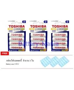ถ่านชาร์จ AA 2,450mAh Toshiba Pro TNH-6AH 12 ก้อน คุ้มกว่าเห็น ๆ