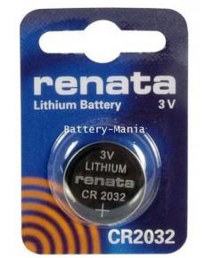 ถ่านกระดุม renata swiss CR2032 pack 1 ก้อน