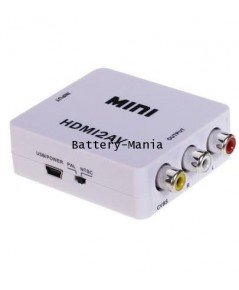 HDMI to AV converter ( กล่องแปลงสัญญาณ HDMI เป็น AV ) True 1080P