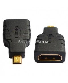 Micro HDMI Male Type D to HDMI Female Type A Adapter
