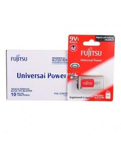 Fujitsu Alkaline Battery - Universal POWER ขนาด 9V / 6LF22 จำนวน 10 ก้อน
